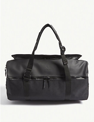 RAINS: Nylon large duffle bag