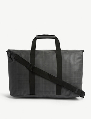 RAINS Rains check print Weekend tote bag