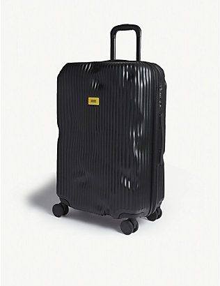 CRASH BAGGAGE: Stripe medium suitcase 68cm