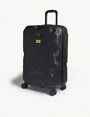 CRASH BAGGAGE Stripe medium suitcase 68cm