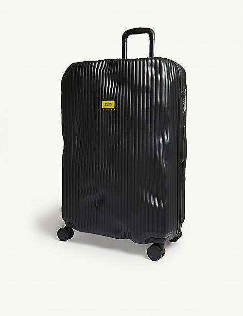 CRASH BAGGAGE: Stripe suitcase 79cm