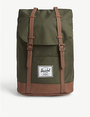 HERSCHEL SUPPLY CO: Retreat canvas backpack