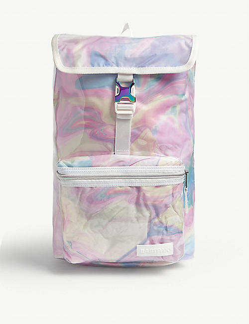 EASTPAK Topher marble PVC backpack