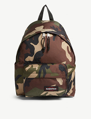 EASTPAK Padded camouflage Travell'r backpack