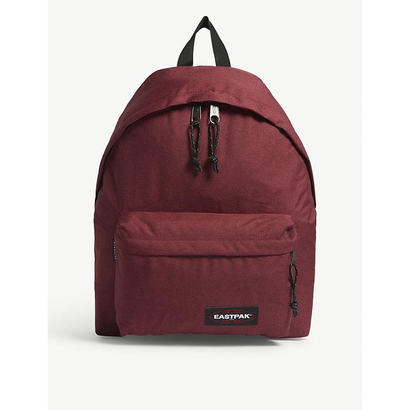 EASTPAK | Eastpak Red Padded Pak'r Brimblock Backpack | Goxip