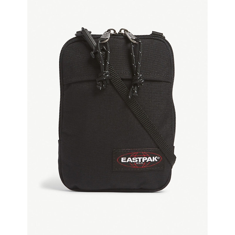 EASTPAK | Eastpak Black Woven Authentic Buddy Canvas Cross Body Pouch | Goxip