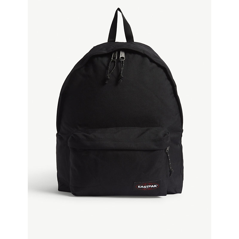 EASTPAK | Eastpak Black Woven Authentic Padded Pak'R Canvas Backpack, Size: Extra Large | Goxip
