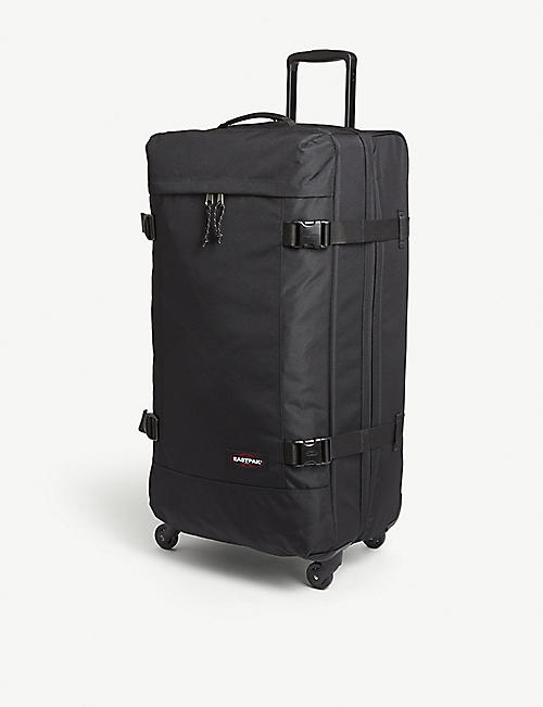 EASTPAK Tranverz large four-wheel nylon suitcase 79cm