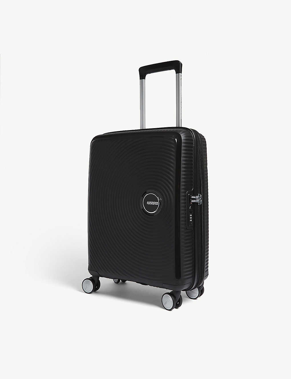 AMERICAN TOURISTER: Soundbox expandable four-wheel cabin suitcase 55cm