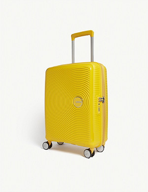 AMERICAN TOURISTER Soundbox expandable four-wheel cabin suitcase 55cm