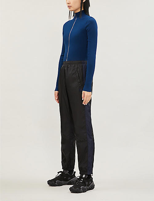 COTTON CITIZEN Ibiza turtleneck stretch-cotton top