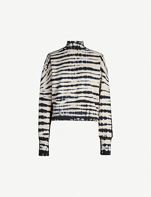 COTTON CITIZEN Milan tie-dye cotton-jersey sweatshirt