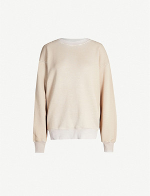 COTTON CITIZEN Brooklyn oversized cotton-jersey sweatshirt