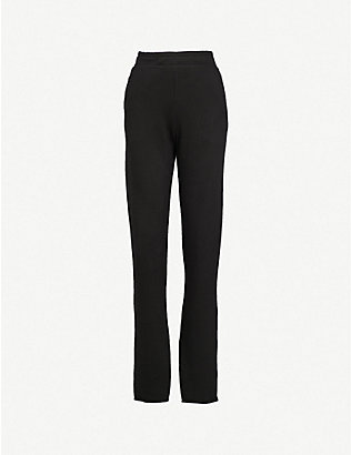 COTTON CITIZEN: Milan cotton-jersey jogging bottoms