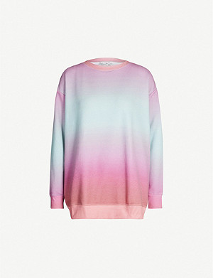 WILDFOX Island Roadtrip round-neck fleece sweatshirt