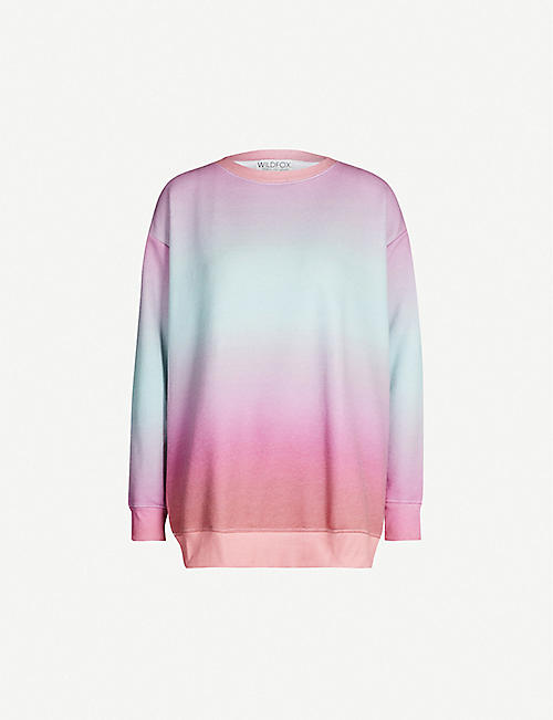 c05032a5a0 WILDFOX Island Roadtrip round-neck fleece sweatshirt