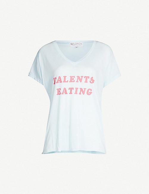a00838698a WILDFOX - T-shirts   Vests - Tops - Clothing - Womens - Selfridges ...