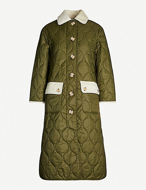 BARBOUR Barbour X ALEXACHUNG Annie shell coat