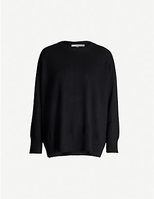 CHINTI AND PARKER: Round-neck cashmere jumper