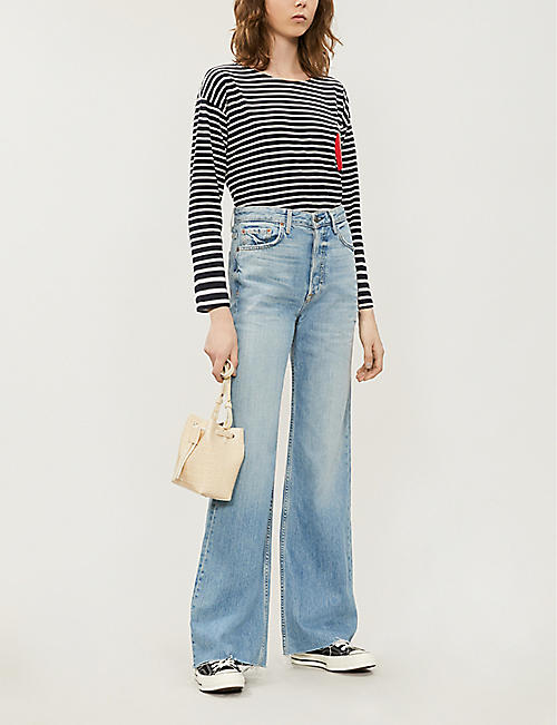 CHINTI AND PARKER Bretton-stripe cotton T-shirt