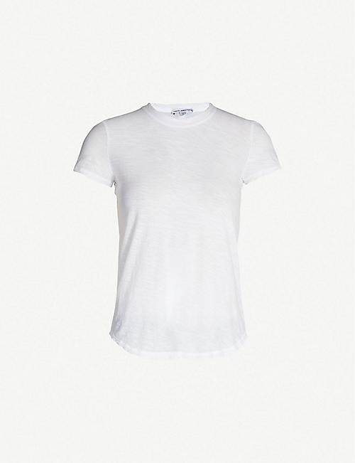 9b5816f819cff JAMES PERSE Crewneck cotton T-shirt