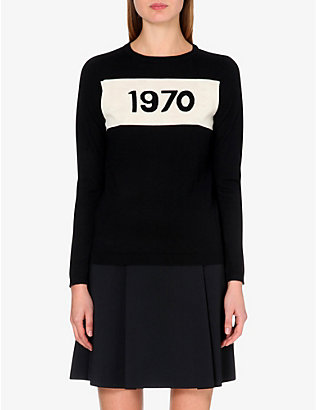 BELLA FREUD: 1970 merino wool jumper