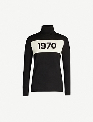 BELLA FREUD 1970 turtleneck wool jumper