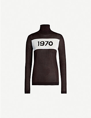 BELLA FREUD: 1970 turtleneck jersey top