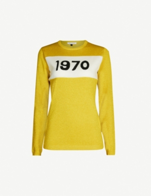 BELLA FREUD 1970 sparkle wool-blend jumper