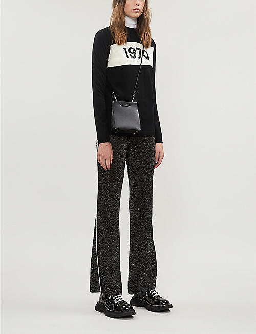 BELLA FREUD 1970 sequin-embellished wool jumper
