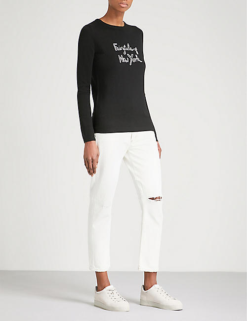 BELLA FREUD Fairytale of New York merino wool jumper