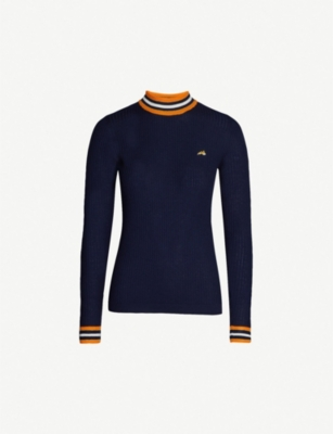 BELLA FREUD Race Track wool jumper