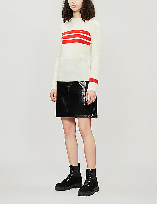 BELLA FREUD Dakar striped cashmere jumper