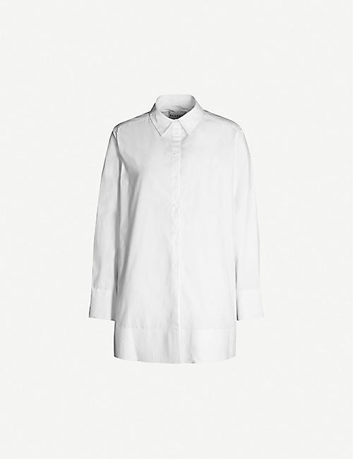 BLANCHE Ella loose-fit organic cotton shirt