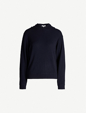 VINCE Long-sleeved cashmere hoody