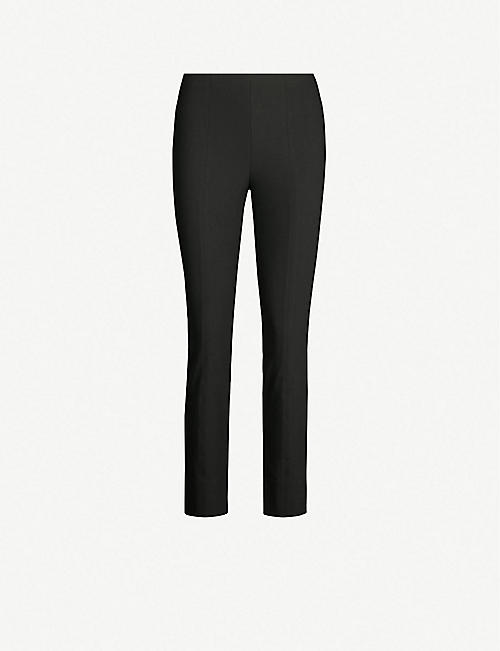 VINCE High-rise skinny stretch-jersey leggings
