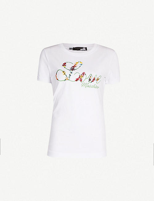 119a195b T-shirts & Vests - Tops - Clothing - Womens - Selfridges | Shop Online