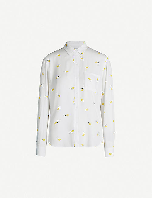 RAILS Rosci stretch-jersey shirt