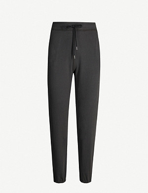 JAMES PERSE Tapered cotton-blend jogging bottoms