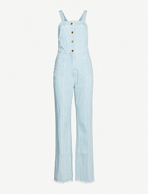 APIECE APART Malene stretch-denim jumpsuit
