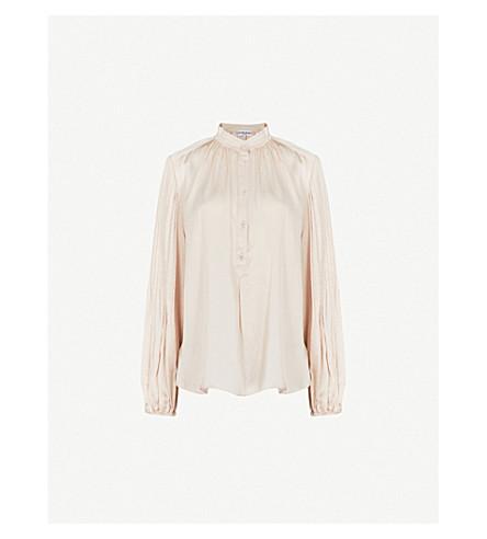 4fb5e45a5cce6a APIECE APART - Bravo silk-satin blouse | Selfridges.com