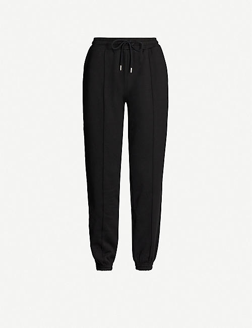 NINETY PERCENT Relaxed-fit organic cotton-jersey jogging bottoms