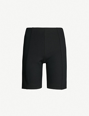 NINETY PERCENT High-rise stretch-jersey cycling shorts