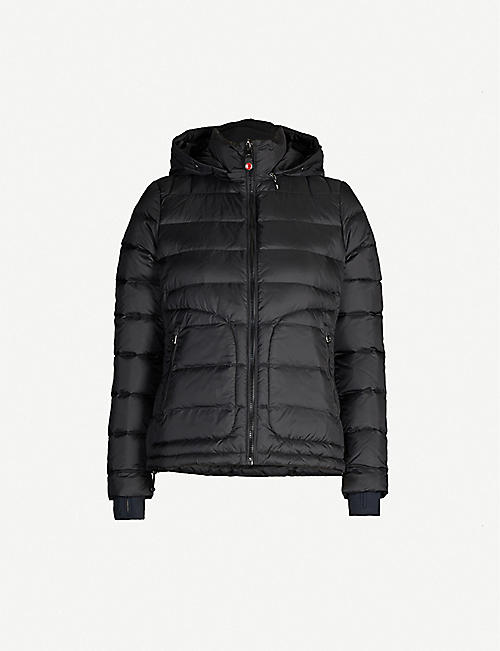 49 WINTERS Tailored Down shell-down hooded jacket