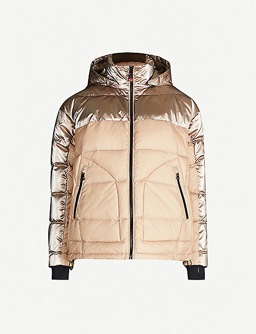 49 WINTERS Kensington hooded shell-down jacket