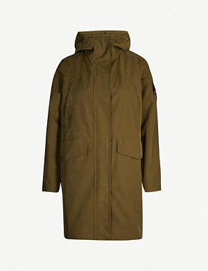 49 WINTERS The Fulham cotton-blend coat