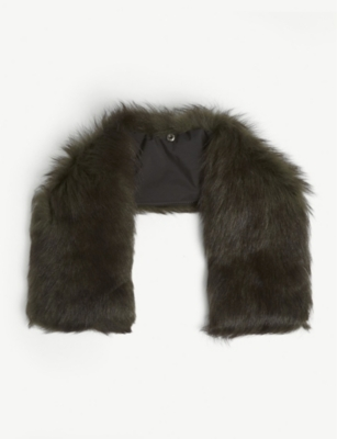 49 WINTERS Shearling collar