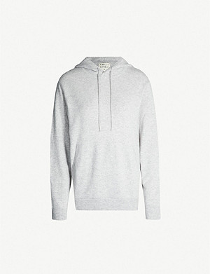 PEOPLE'S REPUBLIC OF CASHMERE Dropped-shoulder cashmere hoody