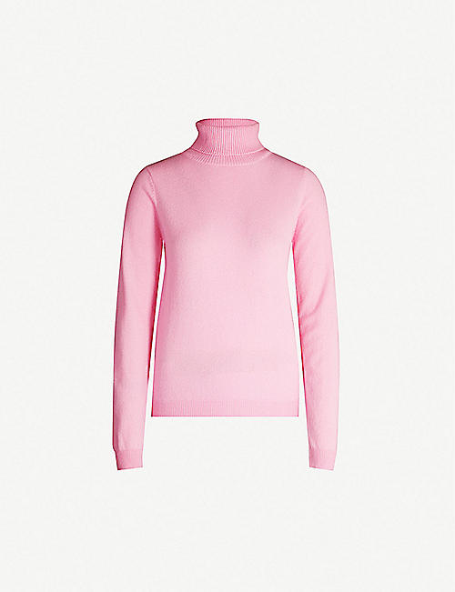 PEOPLE'S REPUBLIC OF CASHMERE Turtleneck long-sleeved cashmere jumper