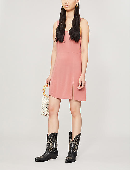 PACSUN Sleeveless rayon mini dress